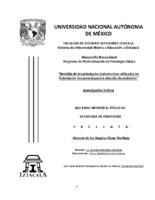Revisión de los principales instrumentos utilizados en orientación vocacional para la elección de profesión